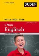 Cover-Bild zu Hock, Birgit: Wissen - Üben - Testen: Englisch 5. Klasse