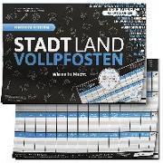 """Cover-Bild zu Barreto, Ricardo: STADT LAND VOLLPFOSTEN® - BLUE EDITION - """"Wissen ist Macht"""""""