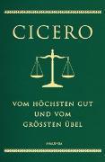 Cover-Bild zu Cicero, Marcus Tullius: Vom höchsten Gut und vom größten Übel (Cabra-Lederausgabe)