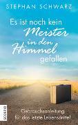 Cover-Bild zu Schwarz, Stephan: Es ist noch kein Meister in den Himmel gefallen