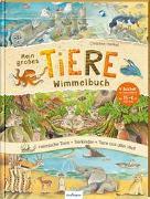 Cover-Bild zu Henkel, Christine (Illustr.): Mein großes Tiere-Wimmelbuch