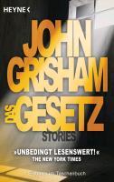 Cover-Bild zu Grisham, John: Das Gesetz