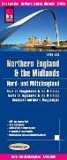 Cover-Bild zu Peter Rump, Reise Know-How Verlag: Reise Know-How Landkarte Nord- und Mittelengland / Northern England & the Midlands (1:400.000). 1:400'000