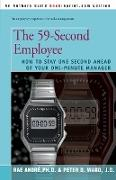 Cover-Bild zu Andre, Rae: The 59-Second Employee