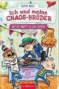 Cover-Bild zu Welk, Sarah: Ich und meine Chaos-Brüder - Beste Party aller Zeiten (Ich und meine Chaos-Brüder 3)
