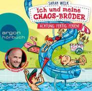 Cover-Bild zu Welk, Sarah: Ich und meine Chaos-Brüder - Achtung, fertig, Ferien!
