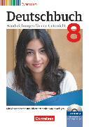 Cover-Bild zu Brenner, Gerd: Deutschbuch Gymnasium, Zu Allgemeine Ausgabe - Hessen, Niedersachsen, Nordrhein-Westfalen, Rheinland-Pfalz, 8. Schuljahr, Handreichungen für den Unterricht, Kopiervorlagen und CD-ROM