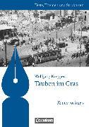 Cover-Bild zu Joist, Alexander: Texte, Themen und Strukturen - Kopiervorlagen zu Abiturlektüren, Tauben im Gras, Kopiervorlagen