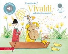 Cover-Bild zu Renon, Delphine (Illustr.): Ich entdecke Vivaldi - Pappbilderbuch mit Sound (Mein kleines Klangbuch)