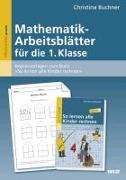 Cover-Bild zu Buchner, Christina: Mathematik-Arbeitsblätter für die 1. Klasse