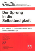 Cover-Bild zu Hubacher, Erich: Der Sprung in die Selbständigkeit