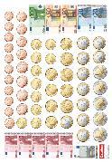 Cover-Bild zu eins-zwei-drei, Mathematik-Lehrwerk für Kinder mit Sprachförderbedarf, Mathematik, 2. Schuljahr, Rechengeld, Kartonbeilagen, 10 Stück im Beutel