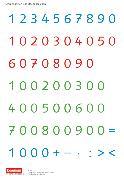 Cover-Bild zu eins-zwei-drei, Mathematik-Lehrwerk für Kinder mit Sprachförderbedarf, Mathematik, 3. Schuljahr, Zahlenkarten und Rechenzeichen, Kartonbeilagen, 10 Stück im Beutel von Demirel, Ümmü