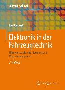 Cover-Bild zu Elektronik in der Fahrzeugtechnik (eBook) von Borgeest, Kai