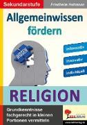 Cover-Bild zu Allgemeinwissen fördern RELIGION (eBook) von Heitmann, Friedhelm