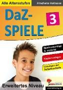 Cover-Bild zu DaZ-Spiele in drei Niveaustufen 3 (eBook) von Heitmann, Friedhelm