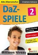 Cover-Bild zu DaZ-Spiele in drei Niveaustufen 2 (eBook) von Heitmann, Friedhelm