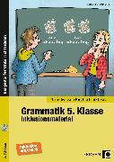 Cover-Bild zu Grammatik 5. Klasse - Inklusionsmaterial Englisch von Brize, Nadja