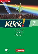 Cover-Bild zu Klick! Biologie, Physik, Chemie, Alle Bundesländer, Band 7, Biologie, Physik, Chemie, Arbeitsheft - Lehrerfassung mit CD-ROM von Gredig, Sylvia