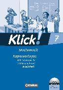 Cover-Bild zu Klick! Mathematik - Mittel-/Oberstufe, Alle Bundesländer, 7. Schuljahr, Kopiervorlagen mit CD-ROM, Auf 3 Niveaustufen von Friedemann-Zemkalis, Enno
