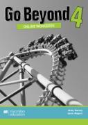Cover-Bild zu Go Beyond Online Workbook 4 von Harvey, Andy