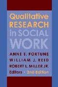 Cover-Bild zu Qualitative Research in Social Work (eBook) von Fortune, Anne