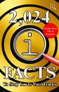 Cover-Bild zu 2,024 QI Facts To Stop You In Your Tracks (eBook) von Lloyd, John