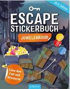 Cover-Bild zu Escape-Stickerbuch - Juwelenraub von Kiefer, Philip