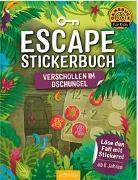 Cover-Bild zu Escape-Stickerbuch - Verschollen im Dschungel von Kiefer, Philip