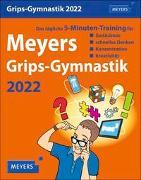 Cover-Bild zu Meyers Grips-Gymnastik Kalender 2022 von Kiefer, Philip