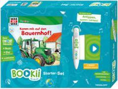 Cover-Bild zu BOOKii® Starter-Set WAS IST WAS Junior Komm mit auf den Bauernhof! von Braun, Christina