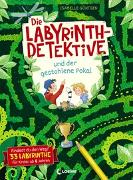 Cover-Bild zu Die Labyrinth-Detektive und der gestohlene Pokal von Loewe Lernen und Rätseln (Hrsg.)