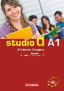 Cover-Bild zu Studio d, Deutsch als Fremdsprache, Schweiz, A1, Sprachtraining mit Lösungsbeileger von von Eggeling, Rita Maria