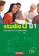Cover-Bild zu Studio d, Deutsch als Fremdsprache, Grundstufe, B1: Gesamtband, Sprachtraining von von Eggeling, Rita Maria