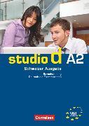 Cover-Bild zu Studio d, Deutsch als Fremdsprache, Schweiz, A2, Sprachtraining mit Lösungsbeileger von von Eggeling, Rita Maria