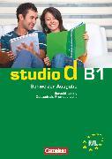 Cover-Bild zu Studio d, Deutsch als Fremdsprache, Schweiz, B1, Sprachtraining mit Lösungsbeileger von von Eggeling, Rita Maria