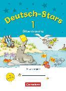 Cover-Bild zu Deutsch-Stars, Allgemeine Ausgabe, 1. Schuljahr, Silbentraining, Übungsheft, Mit Lösungen von Scholtes, Cornelia