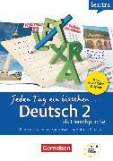Cover-Bild zu Lextra - Deutsch als Fremdsprache, Jeden Tag ein bisschen Deutsch, A1-B1: Band 2, Selbstlernbuch von Heinrich, Eva