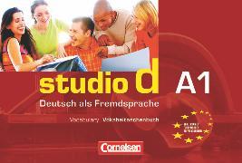Cover-Bild zu Studio d, Deutsch als Fremdsprache, Grundstufe, A1: Gesamtband, Vokabeltaschenbuch Deutsch-Englisch