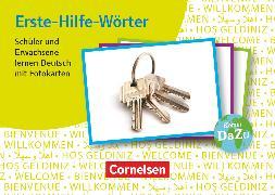 Cover-Bild zu Deutsch lernen mit Fotokarten - Sekundarstufe I/II und Erwachsene, Erste-Hilfe-Wörter (2. Auflage), 300 Fotokarten