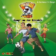 Cover-Bild zu Fußball-Haie (4): Kampf um den Bolzplatz (Audio Download) von Margil, Irene