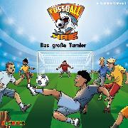 Cover-Bild zu Fußball-Haie (2): Das große Turnier (Audio Download) von Margil, Irene