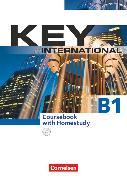 Cover-Bild zu Key, Internationale Ausgabe, B1, Kursbuch mit CDs von Cornford, Annie