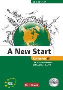Cover-Bild zu A New Start - New edition, Englisch für Wiedereinsteiger, B1: Refresher, Kursbuch mit Audio CD, Grammatik- und Vokabelheft von Cornford, Annie