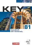 Cover-Bild zu Key, Aktuelle Ausgabe, B1, Kursbuch mit CDs und Phrasebook von Cornford, Annie