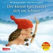 Cover-Bild zu Maxi Pixi 287: VE 5 Der kleine Igel verirrt sich im Schnee (5 Exemplare) von Butler, M Christina
