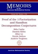 Cover-Bild zu Csaba, Bela: Proof of the 1-Factorization and Hamilton Decomposition Conjectures