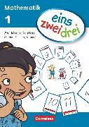 Cover-Bild zu eins-zwei-drei, Mathematik-Lehrwerk für Kinder mit Sprachförderbedarf, Mathematik, 1. Schuljahr, Mathekarten (DIN A4), Zahlen, Zeichen, Formen
