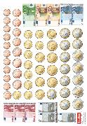 Cover-Bild zu eins-zwei-drei, Mathematik-Lehrwerk für Kinder mit Sprachförderbedarf, Mathematik, 1. Schuljahr, Rechengeld, Kartonbeilagen, 10 Stück im Beutel