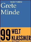 Cover-Bild zu Grete Minde (eBook) von Fontane, Theodor